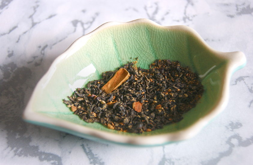 Close up of Hot Elephant spiced tea